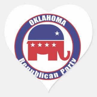 Oklahoma Republican Party Sticker