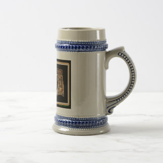 Oklahoma Rig Up Camo Beer Stein