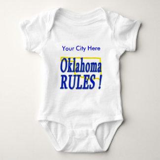 Oklahoma Rules ! Baby Bodysuit