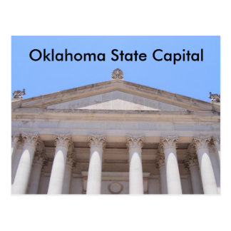 Oklahoma State Capital Postcard