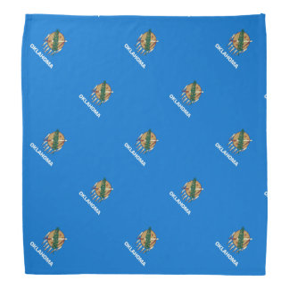 Oklahoma State Flag Design Bandana