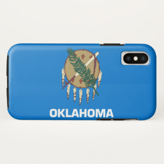 Oklahoma state flag iPhone x case