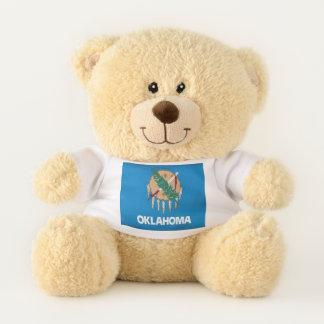 Oklahoma State Flag Teddy Bear