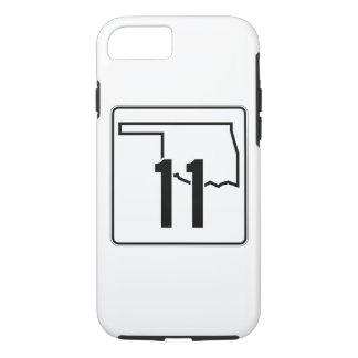 Oklahoma State Highway 11 iPhone 8/7 Case