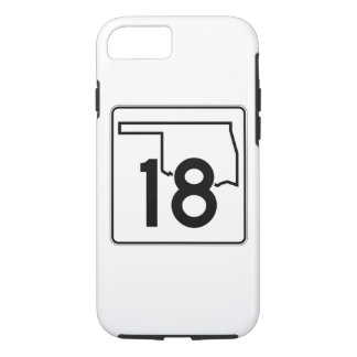 Oklahoma State Highway 18 iPhone 8/7 Case