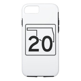 Oklahoma State Highway 20 iPhone 8/7 Case