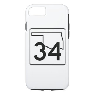 Oklahoma State Highway 34 iPhone 8/7 Case