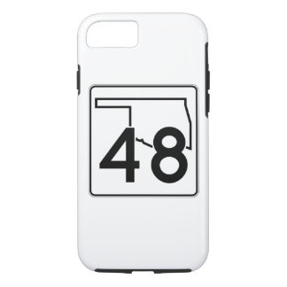 Oklahoma State Highway 48 iPhone 8/7 Case