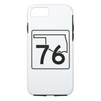 Oklahoma State Highway 76 iPhone 8/7 Case