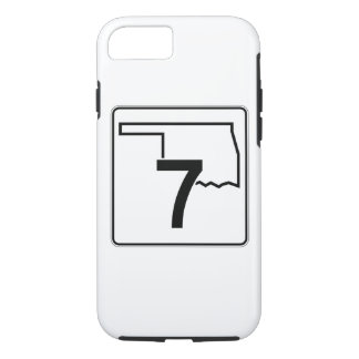 Oklahoma State Highway 7 iPhone 8/7 Case