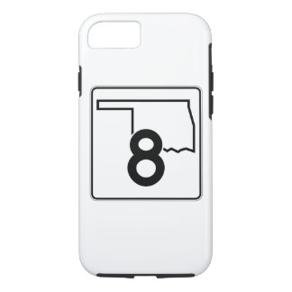 Oklahoma State Highway 8 iPhone 8/7 Case