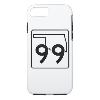 Oklahoma State Highway 99 iPhone 8/7 Case