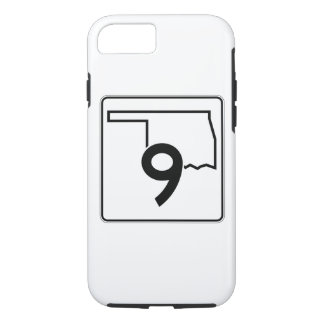Oklahoma State Highway 9 iPhone 8/7 Case