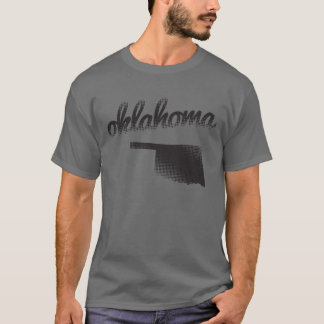 Oklahoma State on Grey T-Shirt
