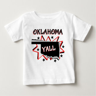 Oklahoma State Pride Y'all Baby T-Shirt