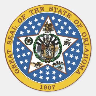 Oklahoma state seal america republic symbol flag