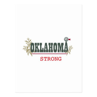 Oklahoma Strong Postcard