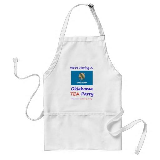 Oklahoma TEA Party - We're Taxed Enough Already! Aprons