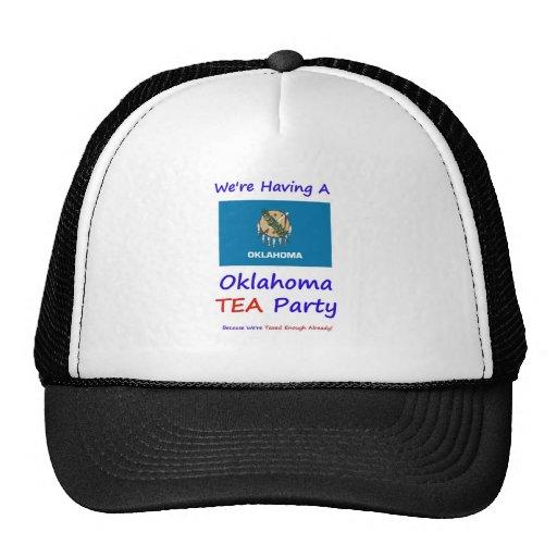 Oklahoma TEA Party - We're Taxed Enough Already! Trucker Hat