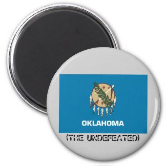 OKLAHOMA THE UNDEFEATED REFRIGERATOR MAGNETS