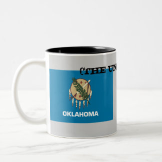 OKLAHOMA(THE UNDEFEATED) Two-Tone COFFEE MUG