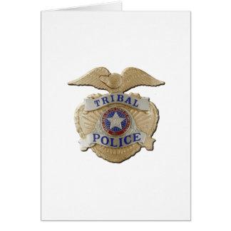 Oklahoma Tribal Police Card