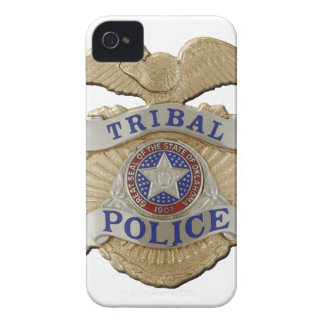 Oklahoma Tribal Police iPhone 4 Case-Mate Case