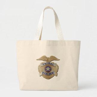 Oklahoma Tribal Police Large Tote Bag