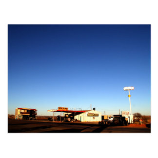 Oklahoma Truck Stop Postcard