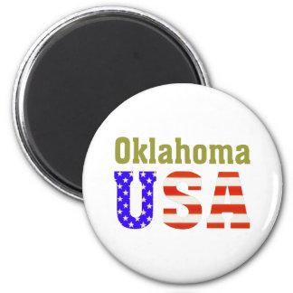 Oklahoma USA! Magnet