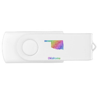 Oklahoma USB Flash Drive