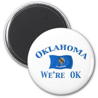 Oklahoma - We're OK Magnet