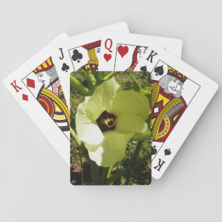 OKRA BLOSSOM PLAYING CARDS