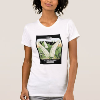 Okra Gumbo Card Seed Co T-Shirt
