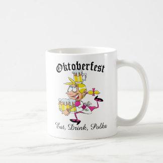 Oktoberfest Barmaid Coffee Mug