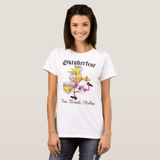 Oktoberfest Barmaid T-Shirt