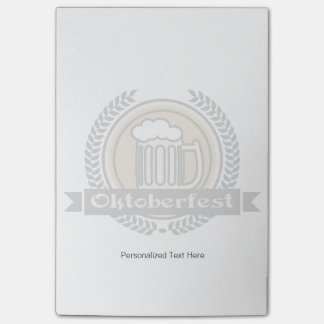 Oktoberfest Beer Icon Or Label Post-it Notes