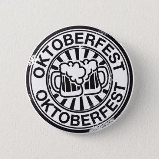 Oktoberfest beer logo 2 inch round button