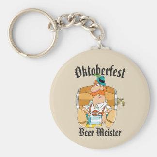 Oktoberfest Beer Meister Keychain