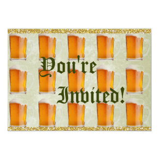 Oktoberfest Beer Mugs Prost Card