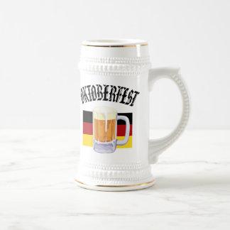 Oktoberfest beer stein