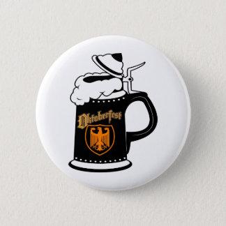 Oktoberfest Beer Stein 2 Inch Round Button