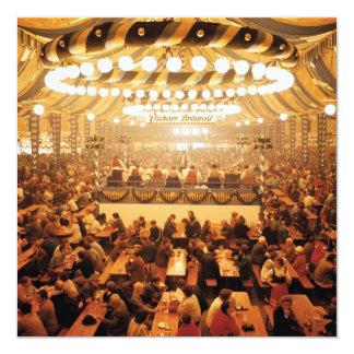 Oktoberfest Beer Tent Invitation