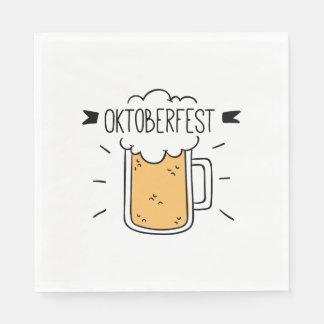 Oktoberfest Beerfest Disposable Napkin