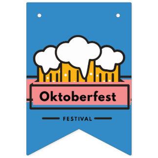 Oktoberfest Beerfest Festival Bunting Flags