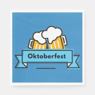 Oktoberfest Beerfest Festival Disposable Napkin