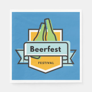 Oktoberfest Beerfest Festival Disposable Napkins