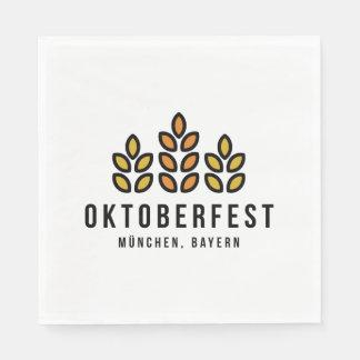 Oktoberfest Beerfest Festival Paper Napkin