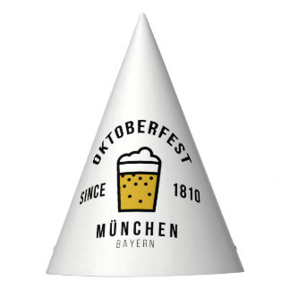 Oktoberfest Beerfest Festival Since 1810 Party Hat