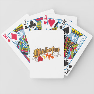 Oktoberfest Bicycle Playing Cards